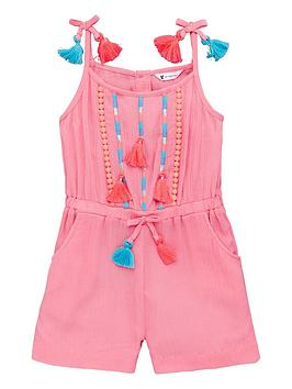 mini-v-by-very-girls-fluoro-tassel-playsuitnbsp--pink