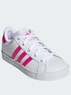 adidas-originals-coast-star-childrensnbsptrainers-whitepink