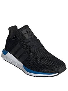 adidas-originals-childrens-swift-trainers-blackblue