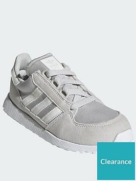 adidas-originals-forest-grove-childrensnbsptrainers-greywhite