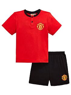character-manchester-united-boys-shorty-pjsnbsp--red