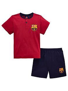 2b51caacd42 Character Barcelona Boys Shorty PJs - Burgundy