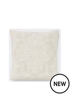 river-island-medallion-embroidery-cushion