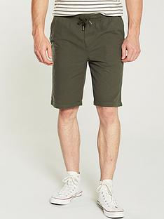 v-by-very-drawstring-short-khaki
