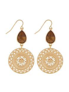 accessorize-statements-shield-earrings