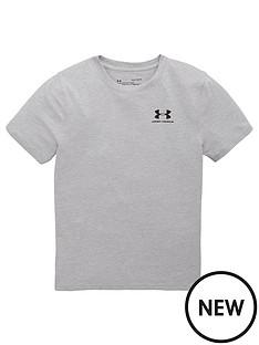 under-armour-boys-cotton-short-sleeve-t-shirt-greyblack