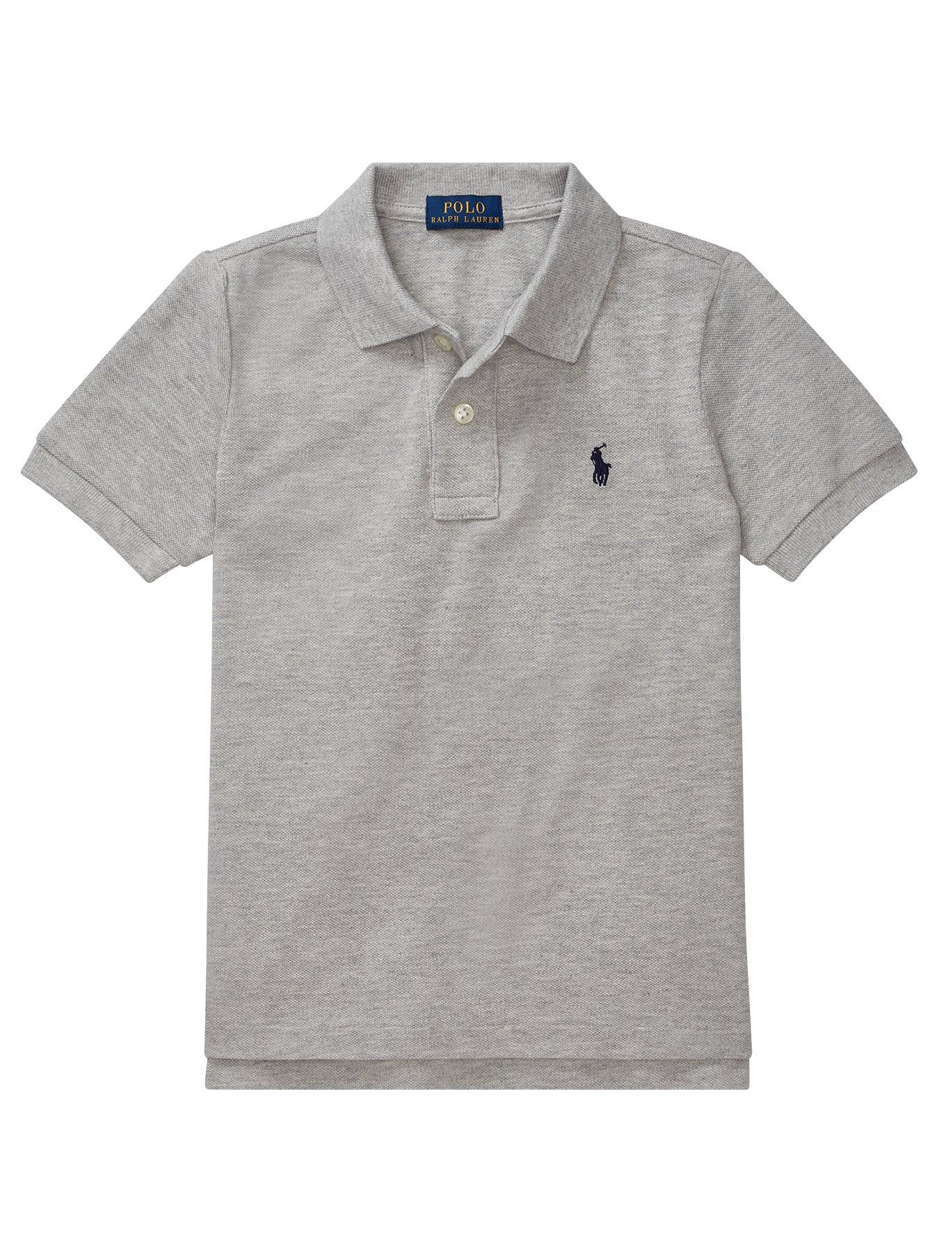 Boys Polo Sport Ralph Lauren Trail Runner Short Sleeve Athletic Shirt