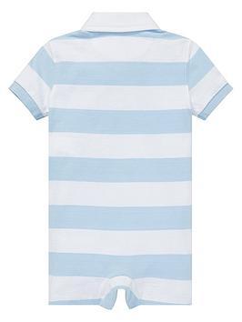 414bf1fd6 Ralph Lauren Ralph Lauren Baby Boys Short Sleeve Stripe Polo Romper ...