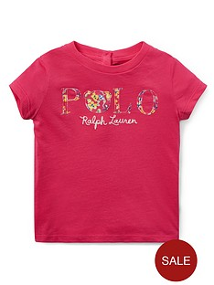 00e7072f4 Ralph Lauren Ralph Lauren Baby Girls Short Sleeve Polo T-shirt