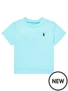 3f8d16773ad Ralph Lauren Baby Boys Classic Short Sleeve T-Shirt - Turquoise