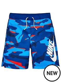 nike-sportswear-boysnbspcamo-woven-shorts-bluewhite