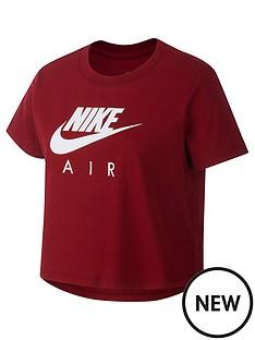 nike-sportswear-girls-air-crop-t-shirt-red