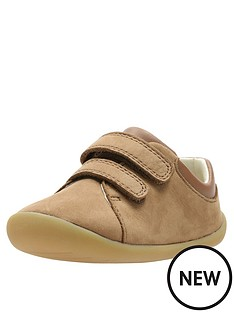clarks-toddler-roamer-craft-leather-shoes-tan