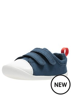 Clarks Toddler Roamer Craft Leather Shoe db14ebe26