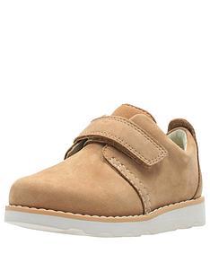 2797a1de5a1e Clarks Toddler Crown Park Leather Shoes - Tan