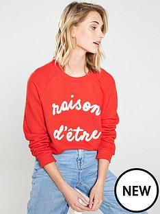 whistles-raison-d-etre-sweatshirt-rednbsp