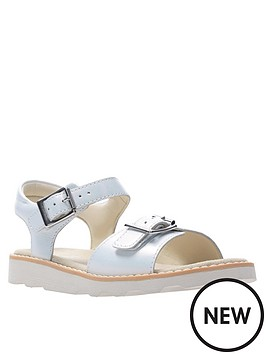 c5cc3f5b8cfd Clarks Crown Bloom Sandal - White. View larger