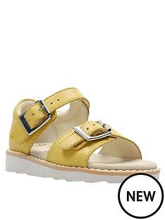 a9af6397ba8 Clarks Toddler Crown Bloom Sandal - Yellow