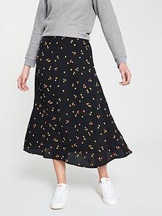 whistles-whistles-micro-floral-print-longline-skirt