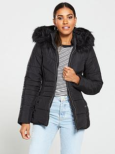 v-by-very-short-faux-fur-trim-padded-jacket-black