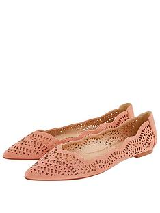 accessorize-westbourne-laser-cut-pointed-shoes-coral