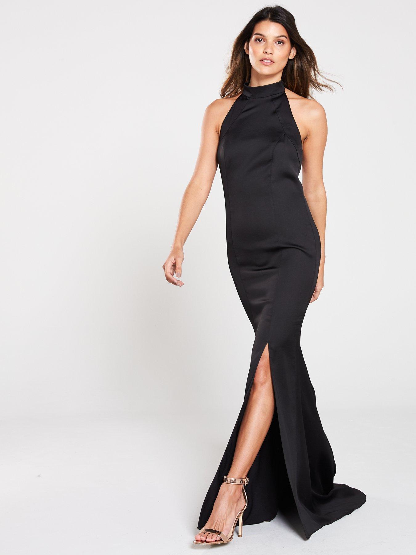 V Tail Dress