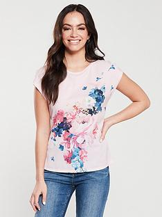 85a05bf87 Ted Baker Ted Baker Santula Raspberry Ripple Printed Tee