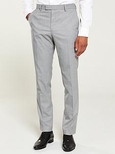prod1088593679: Grey textured skinny suit trousers