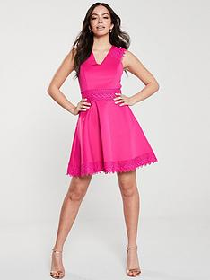 ted-baker-ted-baker-elayna-lace-tiered-skater-dress