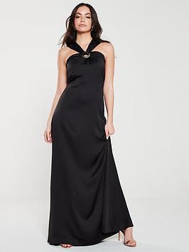 ted-baker-matilde-circle-detail-maxi-dress-black