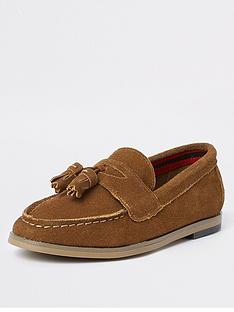 river-island-boys-tan-tassle-loafers