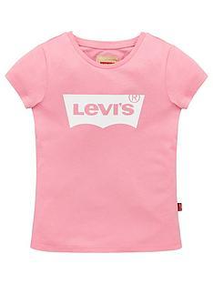 levis-girls-short-sleeve-batwing-t-shirt-pink