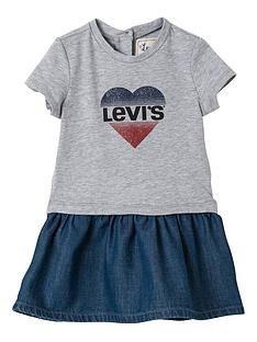 levis-baby-girls-jersey-frill-dress-grey-marl