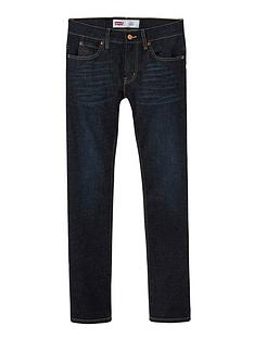 levis-boys-511-slim-fit-tapered-dark-wash-jeans-indigo