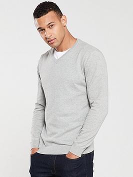 v-by-very-v-neck-jumper-grey-marl