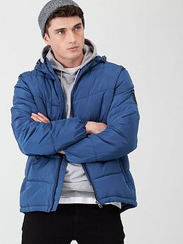 very-man-hooded-padded-jacket-airforce-blue