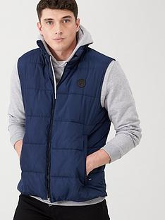 v-by-very-padded-gilet-navy
