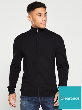 v-by-very-zip-through-knitted-sweater-black