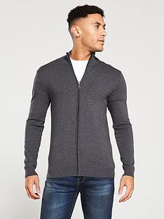 v-by-very-zip-through-knitted-sweater-charcoal