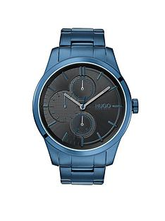 hugo-hugo-discover-grey-multi-dial-blue-ip-stainless-steel-bracelet-mens-watch