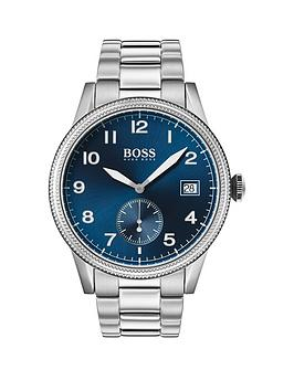 boss-boss-legacy-blue-sunray-date-dial-stainless-steel-bracelet-mens-watch