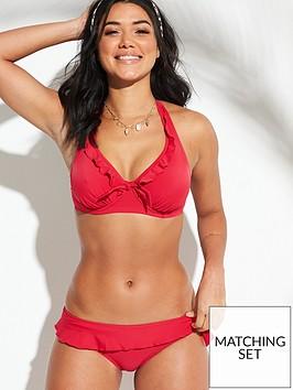 pour-moi-splash-frill-bikini-brief-red