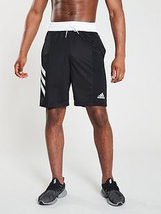 adidas-3-stripe-shorts-black