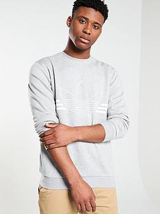 adidas-originals-spirit-outline-crew-neck-sweat-medium-grey-heather