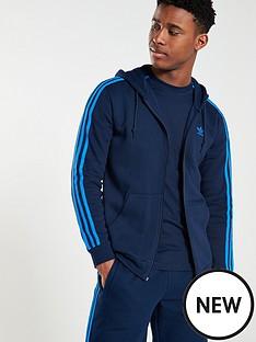 adidas-originals-3-stripe-full-zip-hoodienbsp--navy