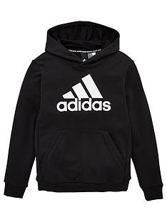 adidas-youth-badge-of-sport-hoodie-blackwhite