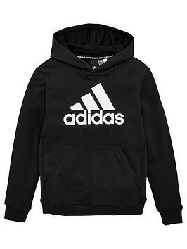 adidas-youth-badge-of-sport-hoodie-blackwhite
