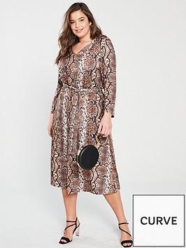 v-by-very-curve-v-neck-jersey-midi-dress-snake-print