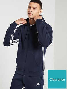 adidas-side-3-stripe-full-zip-hoodienbsp--ink