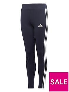 adidas-youth-training-equipmentnbsp3-stripe-leggings-navywhite